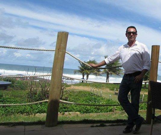 Villa Da Praia Hotel : Mar ;-)