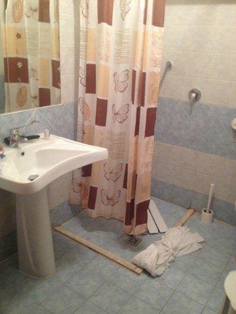 Hotel Astor: душ