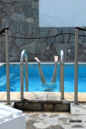 Hotel Parco Cartaromana: Термальный бассейн