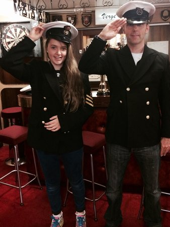 Royal Yacht Britannia: Captain of RY brittania-briefly!