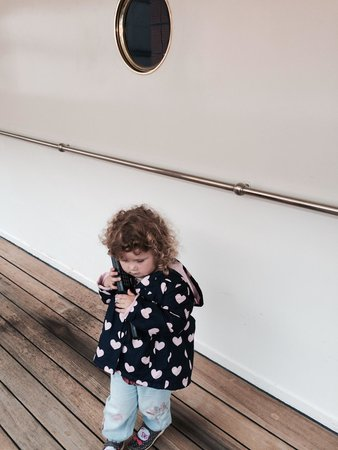 Royal Yacht Britannia: Even 2 year old engrossed in audio tour-fabulous.