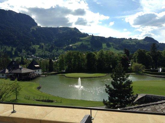 A-ROSA Resort Kitzbühel: Вид с веранды ресторана