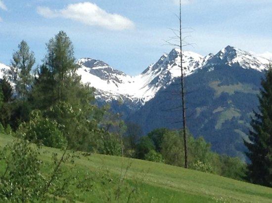 A-ROSA Resort Kitzbühel: Вид с  веранды нашего  номера