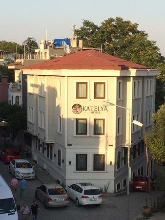 Katelya Hotel: Вид с верху