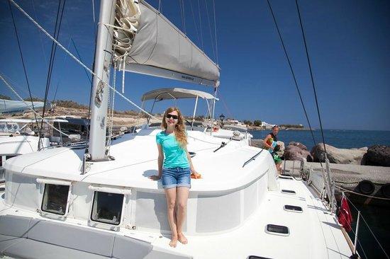 Spiridakos Sailing Cruises: на катамаране