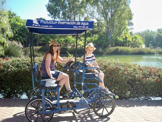 Parque De La Paloma : E5 for three trips round the lake