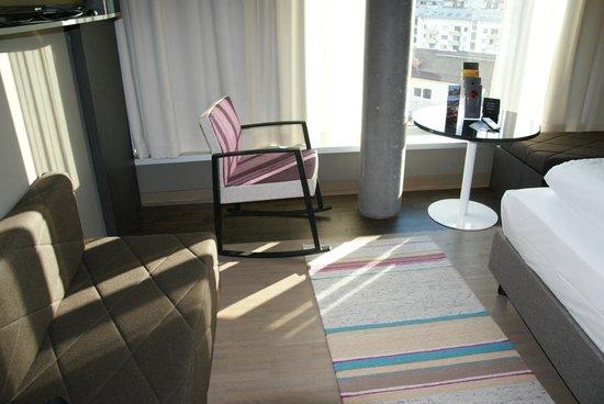Adlers Hotel: Room interior nice design.