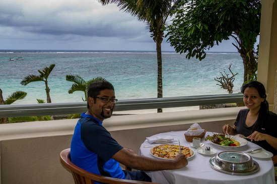 The Residence Mauritius: Room service is as plesant as it gets