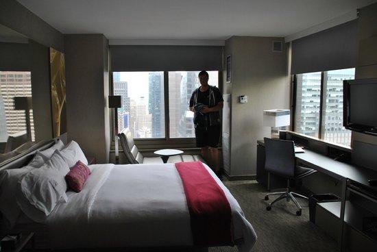 W New York - Times Square : les 2 fenêtres de la chambre
