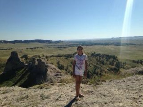 Fort Robinson State Park: from the top of Cheyenne Butte