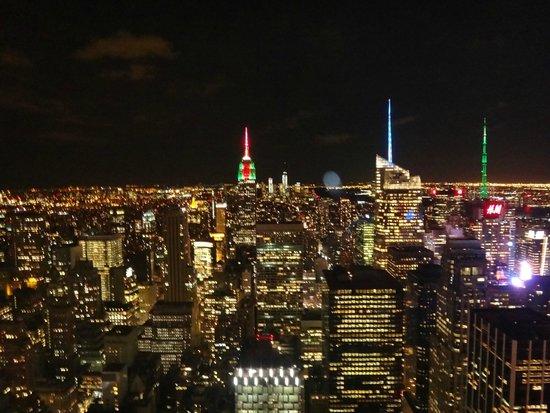 Rockefeller Center: Night Views from Rockefeller Centre