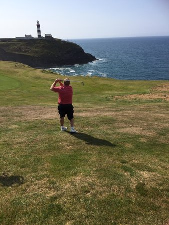 Old Head Golf Links: Birdie on the 15th!!!!!