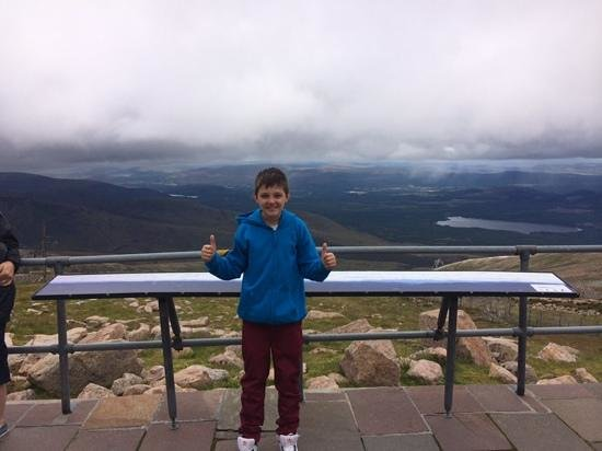 Cairngorms National Park: Callum at the top