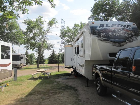 Yogi Bear's Jellystone Park Camp-Resort of Sioux Falls: Shady sites