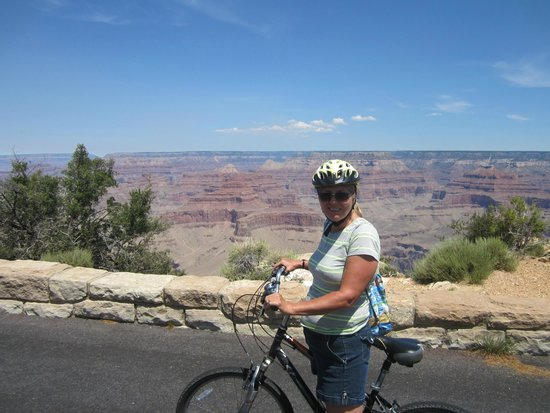 Bright Angel Bike Rentals and Tours: South rim-Hermit Road Trail