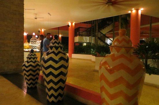 Decameron Barú: Vista del restaurante