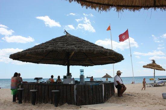 Hotel Movie Gate : Bar de plage