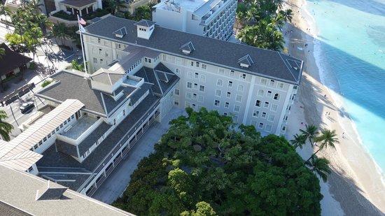 Moana Surfrider, A Westin Resort & Spa : 眺めは最高!