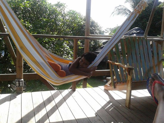 Hostal Mar e Iguana: Siesta time..