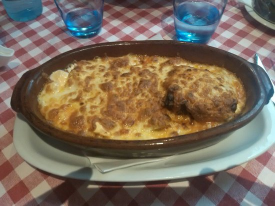 BellaLisa Valmor: Tris Bella Lisa (tortellini, cannellone e lasagna affogati nel formaggio)