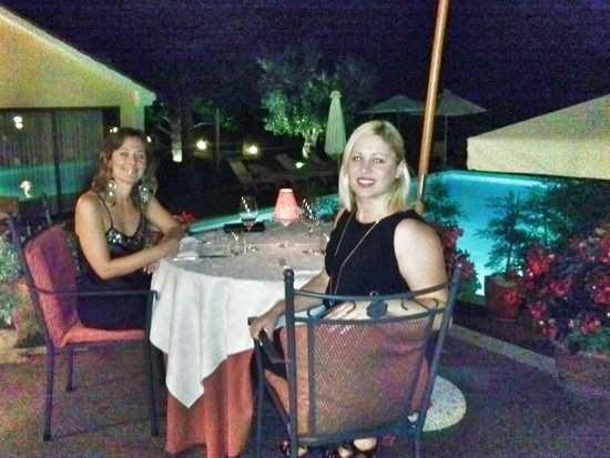 San Rocco Hotel and Restaurant: amazing dinner experience with wonderful views