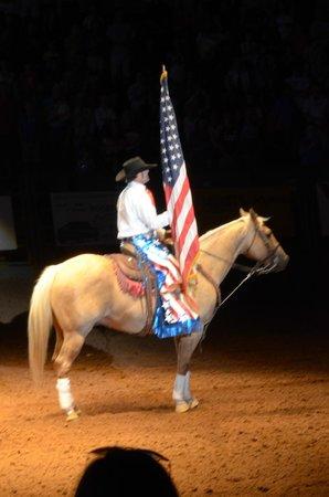 Stockyards Rodeo : inno nazionale