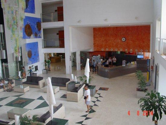 SBH Costa Calma Beach Resort: Vue de la réception