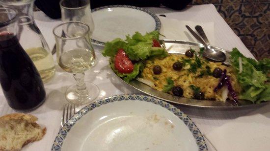 Restaurante Tomaz: omelette entree