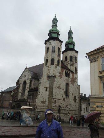Church of St. Andrew (Kosciol Swietogo Andrzeja) : Igreja de Santo André (Kosciol Swietogo Andrzeja)  - Cracovia.