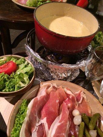 Le Freti: Délicieuse fondue savoyarde