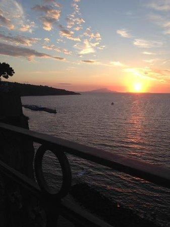 Grand Hotel Ambasciatori: another sunset