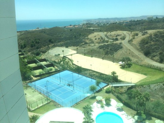 DoubleTree by Hilton Hotel Resort & Spa Reserva del Higueron: Views from room balcony