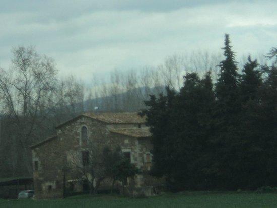 Ruinas de Empuries: paisaje de camino