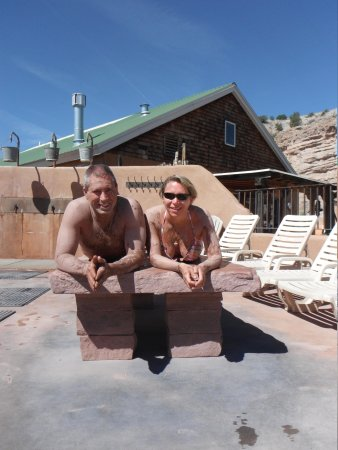 Ojo Caliente Mineral Springs Resort and Spa: Mud area