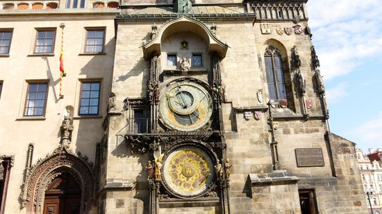 Old Town Hall and Astronomical Clock: Clock