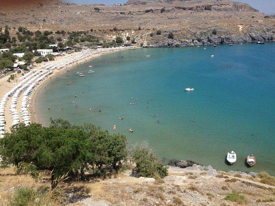 Lindos Mare Hotel: Lindos beach