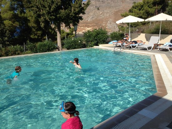 Lindos Mare Hotel: Infinity pool