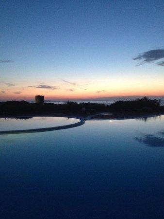 Hotel Relax Torreruja Thalasso & Spa: Il tramonto! Cenare così?? Da 10 e lode