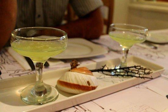 Pasta Fresca Barkia : Welcome drink