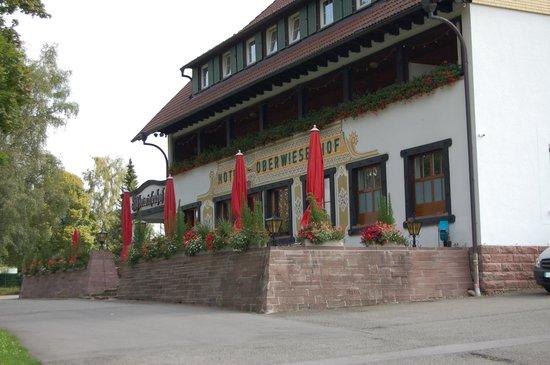 Hotel Oberwiesenhof: Aussenansicht von vorne
