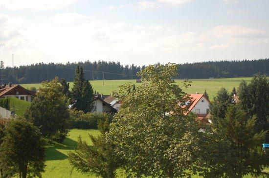 Hotel Oberwiesenhof: Aussicht vom Zimmer