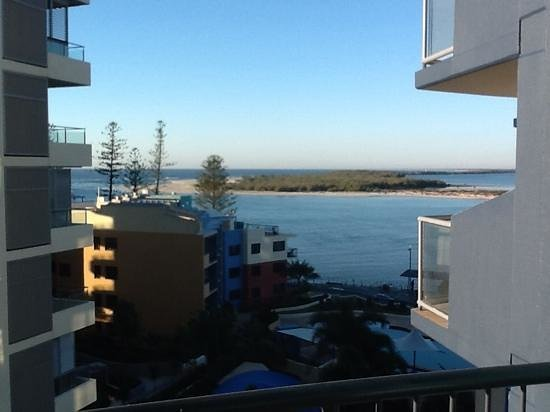 Breakfree Grand Pacific Resort Sunshine Coast : what amorning view