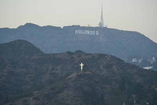 Loews Hollywood Hotel: Quite a view !
