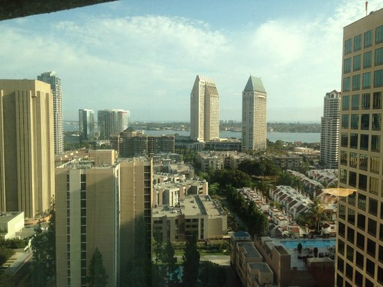 The Westin San Diego: View from the 20th floor