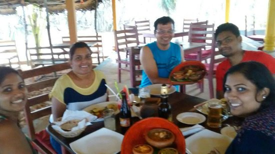 Awanhala Beach Restaurant : The awesome lunch at Awanhala.. Simply delicious