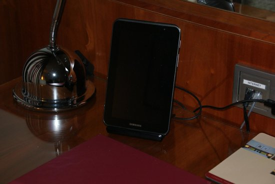 K+K Hotel Maria Theresia: Samsung tablet in room.