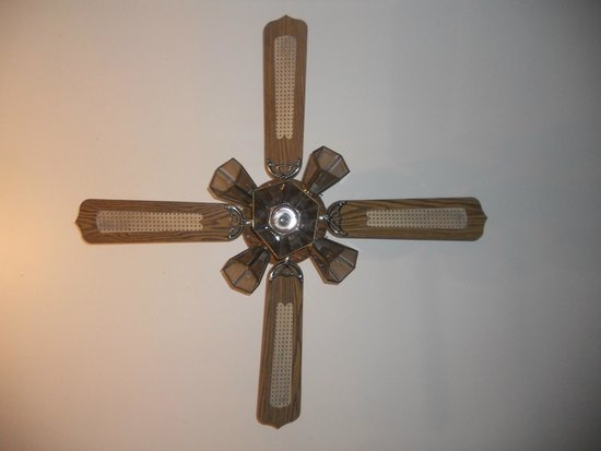 Camp Lacupolis : Retro ceiling fan!