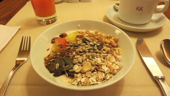 K+K Hotel Maria Theresia: Breakfast.