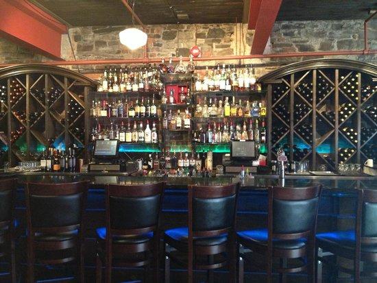 The Gypsy Tea Room: The bar area...