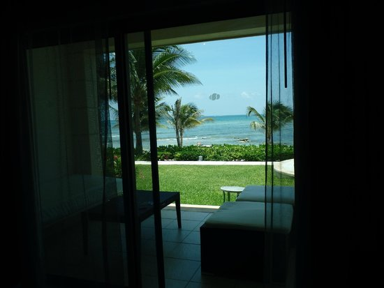 Secrets Silversands Riviera Cancun: View from inside room
